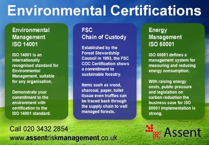 Environmental Management Consultants Assent Risk Management