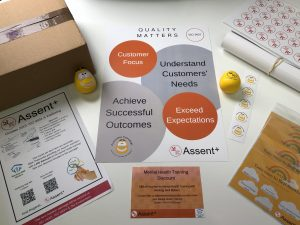 Assent+ Welcome pack